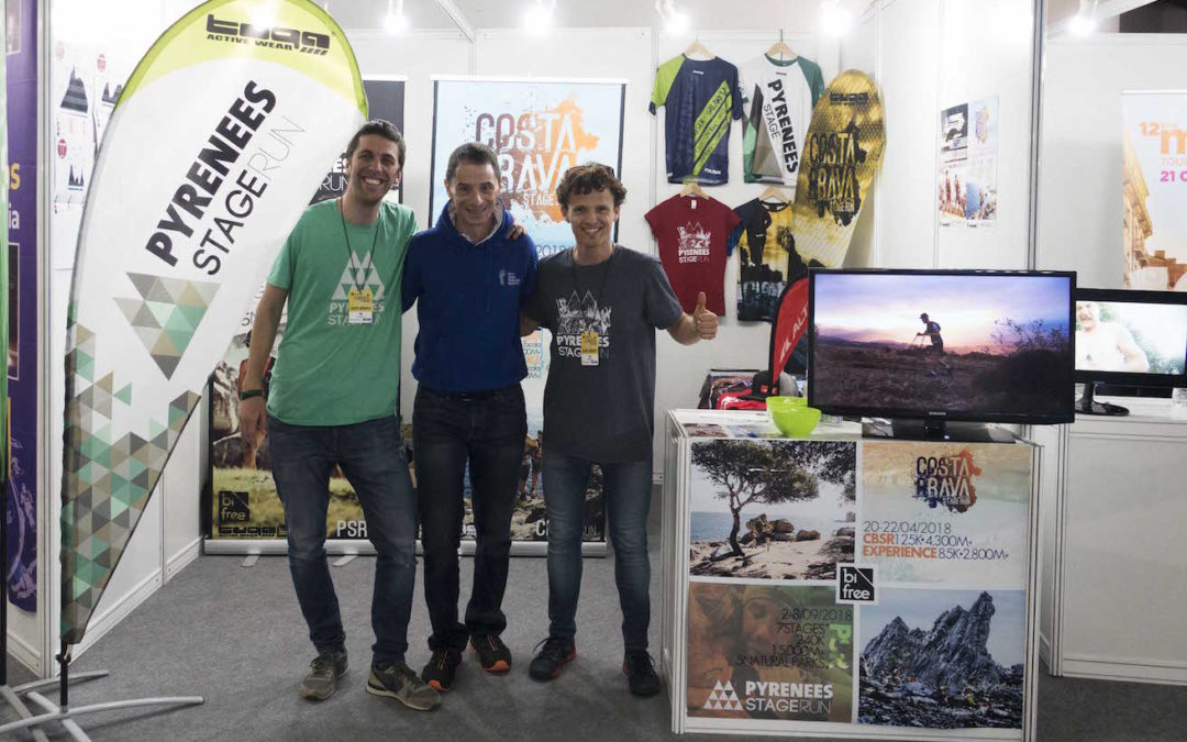 Enric Violan Podiatry at the Costa Brava Stage Run 2019